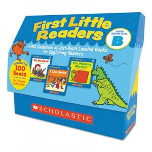 Scholastic First Little Readers, Reading, Grades Pre K-2, 8 Pages/Book, 20 Books, Level B SHS522302 9780545223027