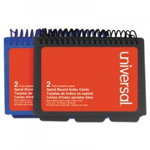 """Genpak Spiral Bound Index Cards, 4"""" x 6"""", White, 120/Pack UNV47302"""