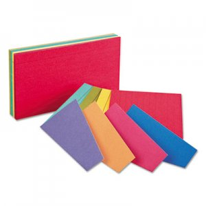 Oxford Extreme Index Cards, 4 x 6, Two-Tone Assorted, 100/Pack OXF04747 04747