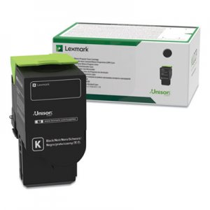 Lexmark 70C0XKG (700XKG) Return Program Extra High-Yield Toner, Black, TAA Compliant LEX70C0XKG 70C0XKG