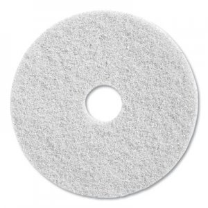 "Diversey Twister Floor Pad, 20"" Diameter, White, 2/Carton DVODD5867869 DD5867869"
