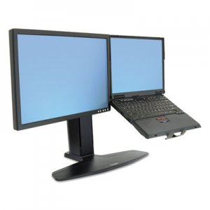 Ergotron Neo-Flex LCD and Laptop Lift Stand, 28 lb Weight Capacity, Black ERG33331085 33-331-085