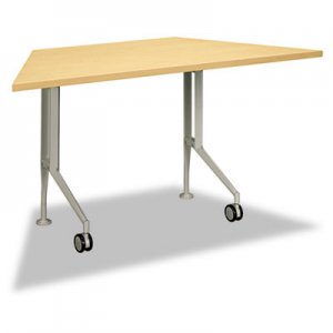 HON Perpetual Series Trapezoid Training Table, 60w x 30d x 29-1/2h, Natural Maple HONPT3060BD