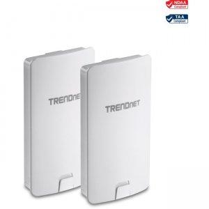 TRENDnet 14 dBi WiFi AC867 Outdoor PoE Preconfigured Point-to-Point Bridge Kit TEW-840APBO2K