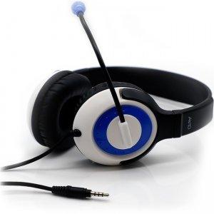 Avid AE-55 Headset with Rotating Microphone, 3.5mm, Blue 2EDU-AE55BL-KBLU