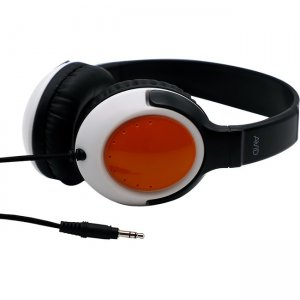 Avid AE-54 Over Ear Headphone with Adjustable Headband, Orange 2AE5-4ORG