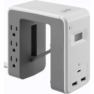 APC by Schneider Electric SurgeArrest Essential 6-Outlet Surge Suppressor/Protector PE6U21W