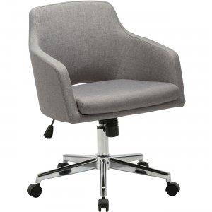 Lorell Mid-century Modern Low-back Task Chair 68570 LLR68570