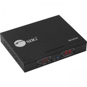 SIIG HDMI 2.0 4K60Hz Over IP Extender / Matrix with IR - Receiver CE-H25C11-S1