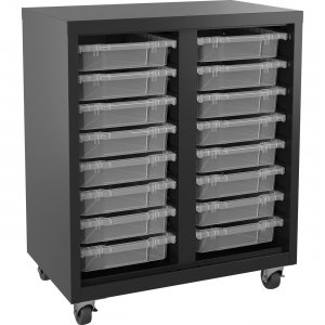 Lorell Pull-out Bins Mobile Storage Unit 71101 LLR71101