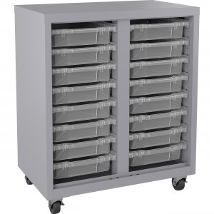 Lorell Pull-out Bins Mobile Storage Unit 71102 LLR71102
