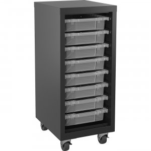 Lorell Pull-out Bins Mobile Storage Tower 71104 LLR71104