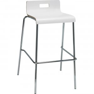 Lorell Bentwood Low Back Cafe Stool 99589 LLR99589