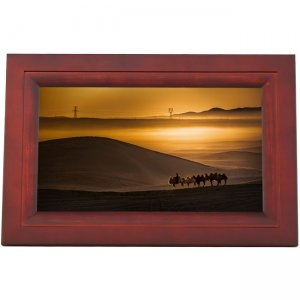 iDeaUSA iDeaPLAY Touchscreen Wi-Fi Photo Frame DF1002 ESP DF1002