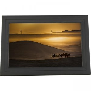 iDeaUSA iDeaPLAY Touchscreen Wi-Fi Photo Frame DF1302 BLACK DF1302