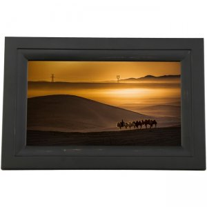 iDeaUSA iDeaPLAY Touchscreen Wi-Fi Photo Frame DF1002 BLACK DF1002