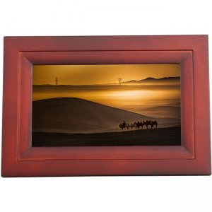 iDeaUSA iDeaPLAY Touchscreen Wi-Fi Photo Frame DF702 ESP DF702