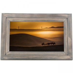 iDeaUSA iDeaPLAY Touchscreen Wi-Fi Photo Frame DF1002 DW DF1002