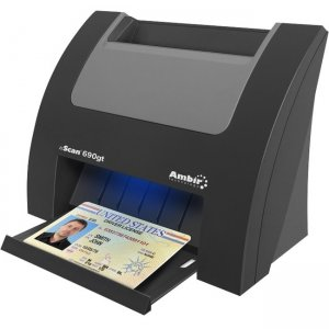Ambir nScan Flatbed Scanner DS690GT-AS