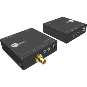 SIIG HDMI over Coaxial Extender with IR CE-H23S11-S1
