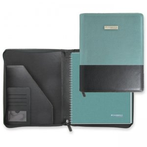 Mead Cambridge Limited Blue Fashion Refillable Notebook 06602 MEA06602