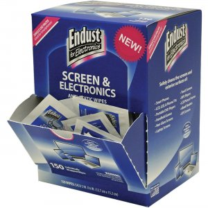 Endust Screen/Electronics Clean Wipes 14316 NRZ14316