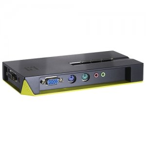 LevelOne 4-Port KVM Switch KVM-0411