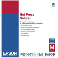 Epson Hot Press Natural Fine Art Paper S042324