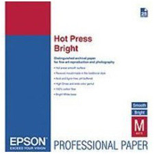 Epson Hot Press Bright Fine Art Paper S042334