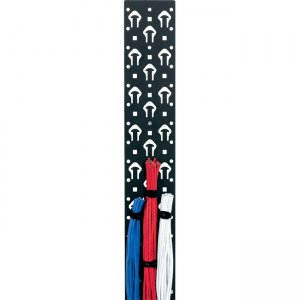"""Middle Atlantic Products 4-3/4"""" Width, 23 Space w/ Tie Posts LACE-23-OWP"""
