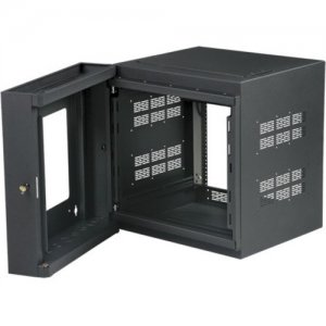 "Atlas Sound 10RU High Strength Wall Cabinet with Adjustable Rails, 23.5"" Deep WMA10-23"