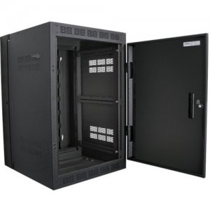 "Atlas Sound 24RU High Strength Wall Cabinet with Adjustable Rails, 23.5"" Deep WMA24-23"