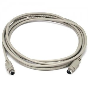 Monoprice 10ft PS/2 MDIN-6 Male to Female Cable 95