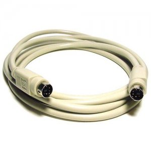 Monoprice 25ft PS/2 MDIN-6 Male to Male Cable 2538