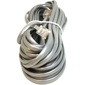 Monoprice Phone Cable, RJ11 (6P4C), Reverse - 25ft for voice 934