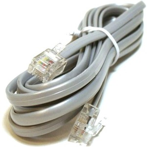 Monoprice Phone Cable, RJ11 (6P4C), Reverse - 7ft for voice 929