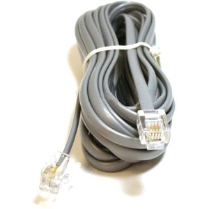 Monoprice Phone Cable, RJ11 (6P4C), Straight - 14ft for data 930
