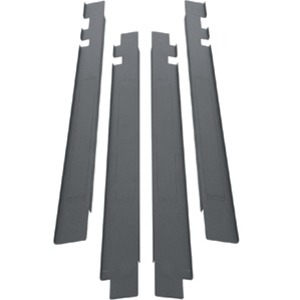 """Middle Atlantic Products Front-Air Dam Panel Mount, 30""""W x 42 RU SNE Racks SNE30-FAD-PM-42"""