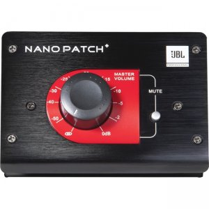 JBL Nano Patch+ Compact 2 Channel Passive Volume Controller NPATCH BLK