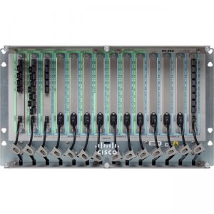 Cisco Mechanical Frame for Passive Units, 14 Slots with USB Hub, 6 RU NCS2K-MF-6RU=