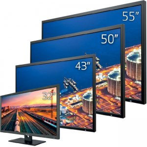 Pelco PMCL600 Series Full High-Definition LED Monitors PMCL643