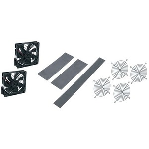 "Middle Atlantic Products Fan Kit, DWR 32"" D DWR-FK6-32"