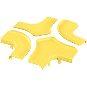 Panduit Split Cover for 6x4 Four Way Cross Fitting FRFWCSC6YL