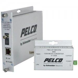 Pelco FMCI Series Ethernet Optical Fiber Media Converters FMCI-AF1MM1STM