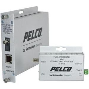 Pelco FMCI Series Ethernet Optical Fiber Media Converters FMCI-BF1SM1STM