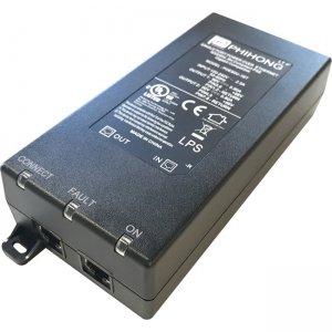 Pelco 90 Watt Power Over Ethernet Single Port Injector POE90U1BT-US