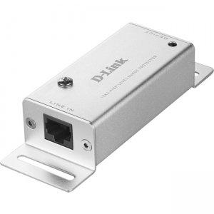D-Link Gigabit Ethernet POE+ RJ45 Indoor 10kA Surge Protector DPE-SP110I