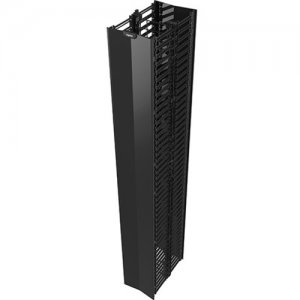 "Legrand Q-Series Vertical Manager, 7' H x 12"" Wide, Double Sided QVMD712"