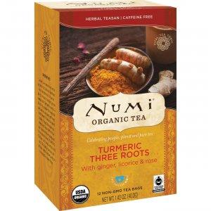 Numi Turmeric Organic Tea 10550 NUM10550