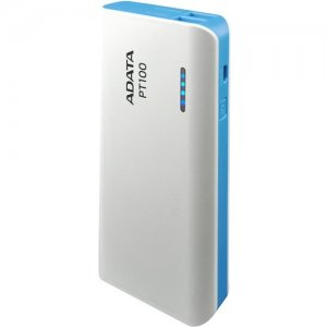Adata Power Bank APT100-10000M-5V-CWHBL PT100
